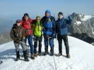 Weissmies Gipfelfoto